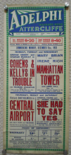 Manhattan Tower, UK film poster, Mary Brian, Irene Rich, James Hall, '33